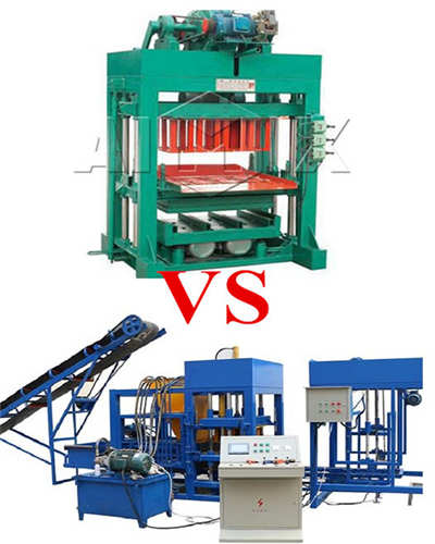 semi automatic and fully automatic machines