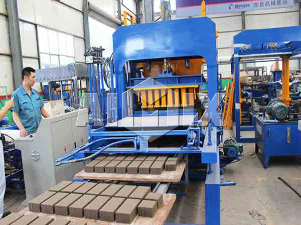 solid cement brick making machine