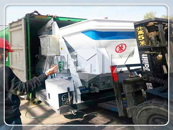 concrete mixer sent to Dominica