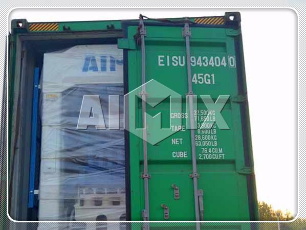 Aimix QT8-15 sent to Dominica