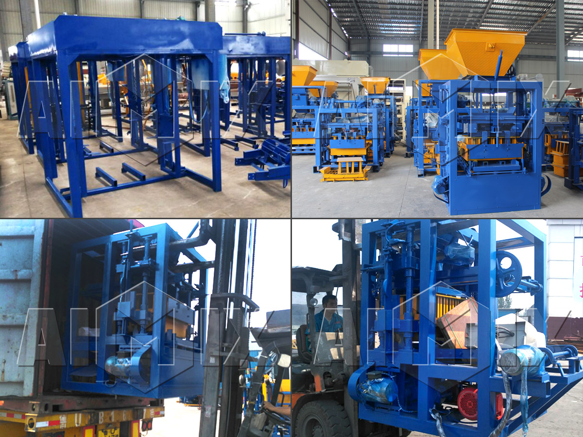 QT4-25 automatic block making machine