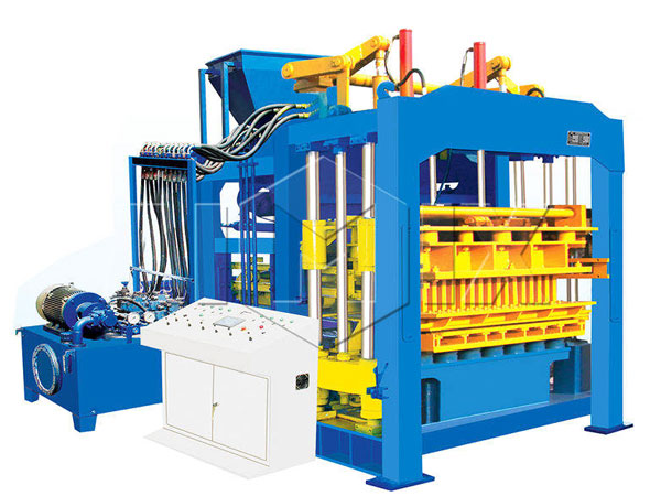 QT8-15 hollow block making machine
