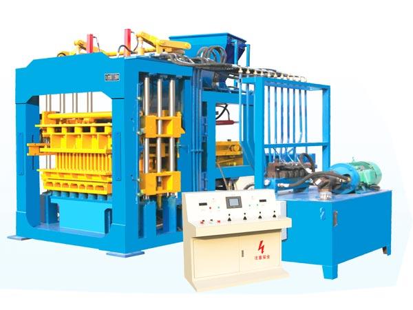 QT8-15 concrete block machine