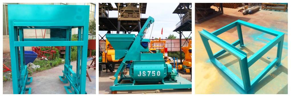 concrete block making machine to Australia