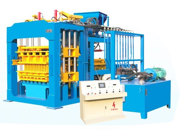QT8-15 automatic concrete block making machine