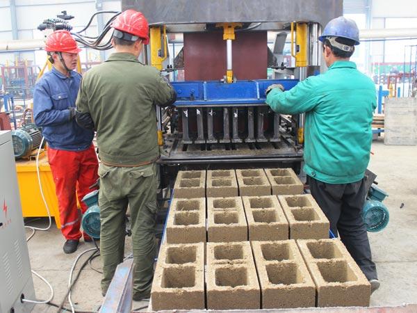 brick making process