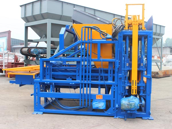 ABM-3S interlocking brick machine