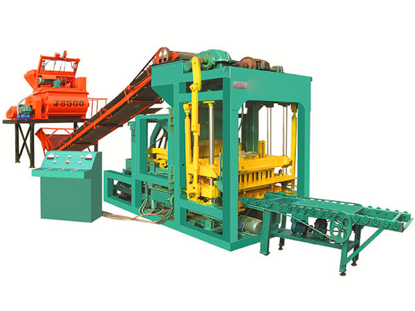 QT4-25 interlocking brick making machine