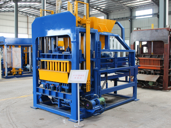 QT6-15 hollow block machine sale in philippines