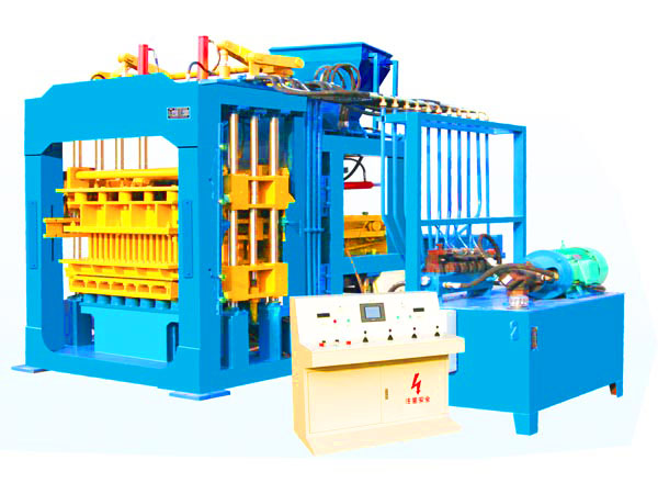 QT10-15 hydraform interlocking brick making machine