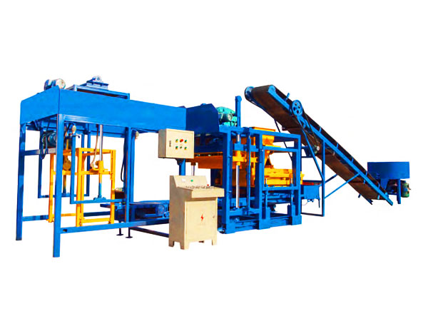 QT12-15 hydraform interlocking brick making machine