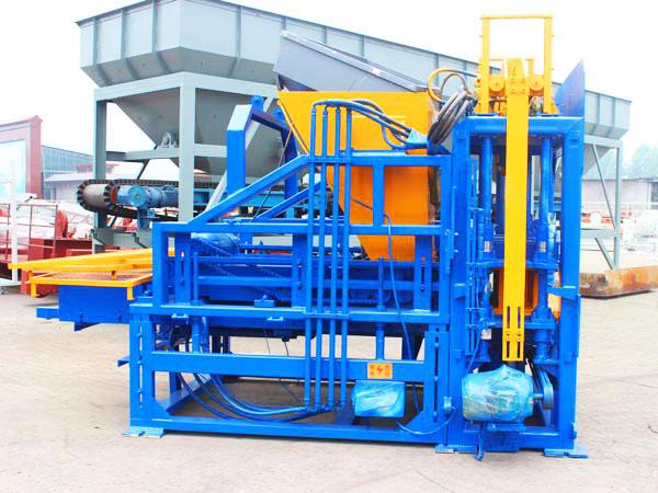 Машина для производства цементных блоков ABM-3S шри-ланка
