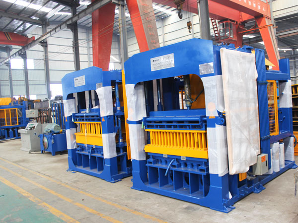 ABM-10S interlocking brick making machine