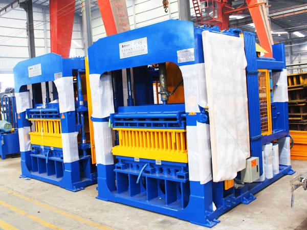 ABM-12S interlocking bricks machine thailand