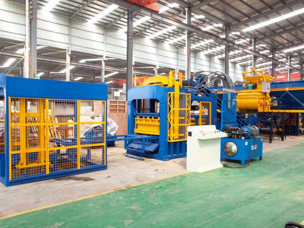 ABM-12S interlocking bricks machine