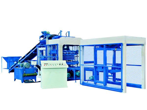 QT8-15 interlocking bricks machine