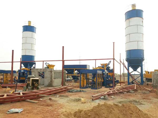 brick production site