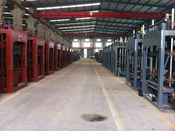 cement block machine workshop