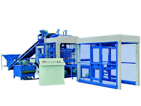 QT10-15 concrete block machine