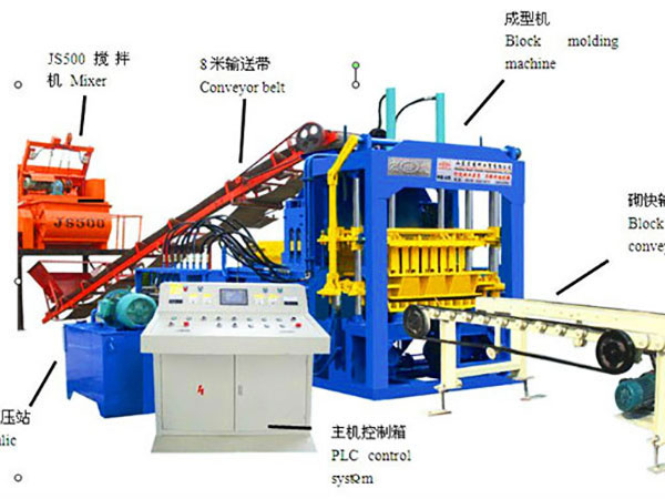 QT8-15 Tanzania block making machine
