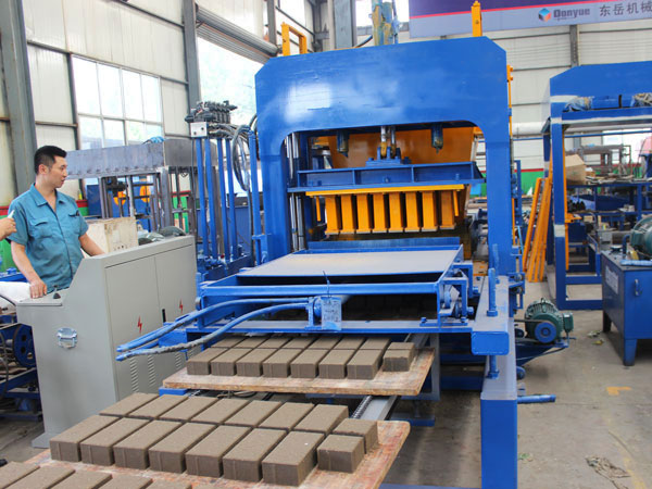 workshop of our block machine