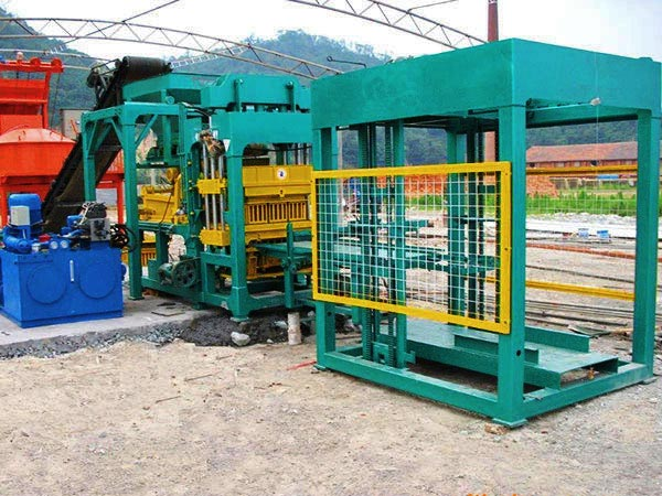 ABM-8S block making machine Sri Lanka