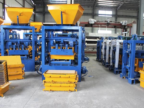 block making machine in China