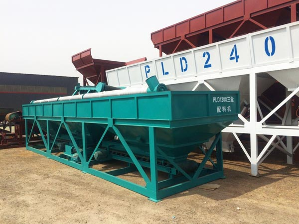 PLD series concrete batching machine