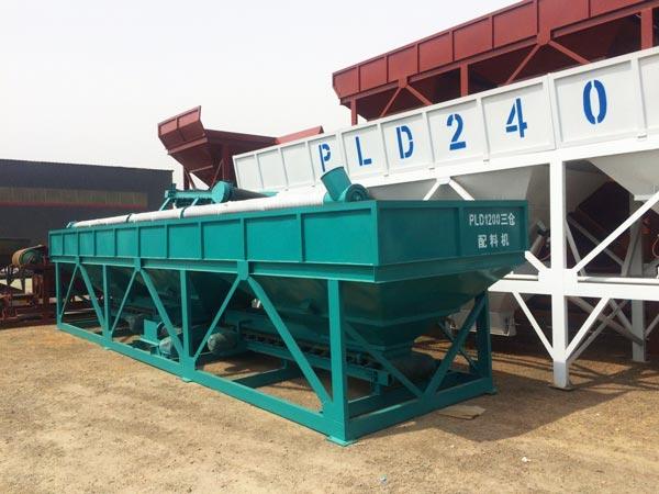 PLD series concrete batching machine