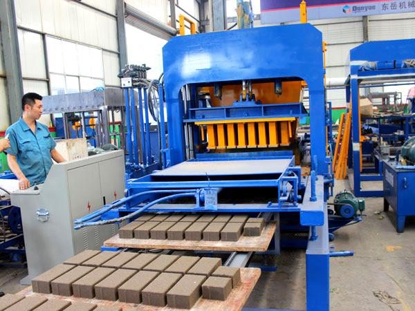 ABM-4S brick machine in uganda