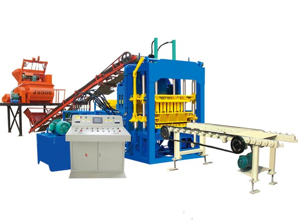 ABM-4S hollow block making machine Bangladesh