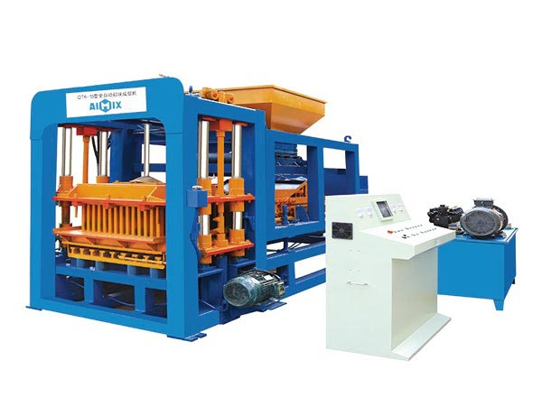 ABM-6S hollow bricks machine Bangladesh