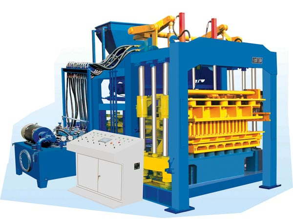 ABM-8S hollow brick maker