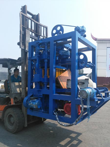 delivery of brick machine