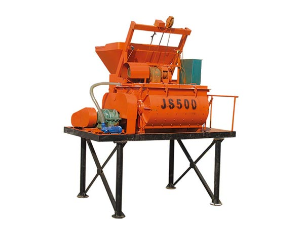 twin shaft mixer for brick making