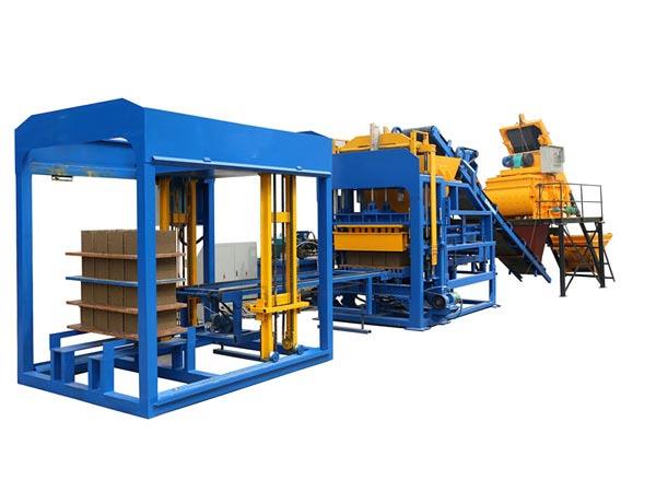 ABM-12S concrete bricks machine Bangladesh