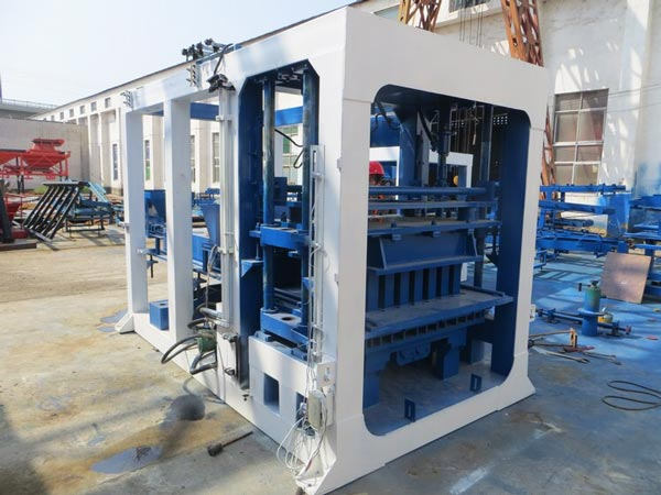 ABM-10S cement block machine