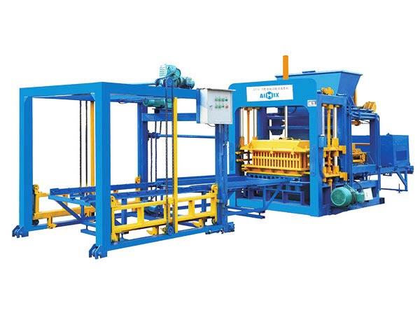 ABM-10S concrete brick making machine Bangladesh