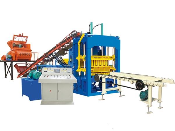 ABM-4S concrete brick machine Bangladesh