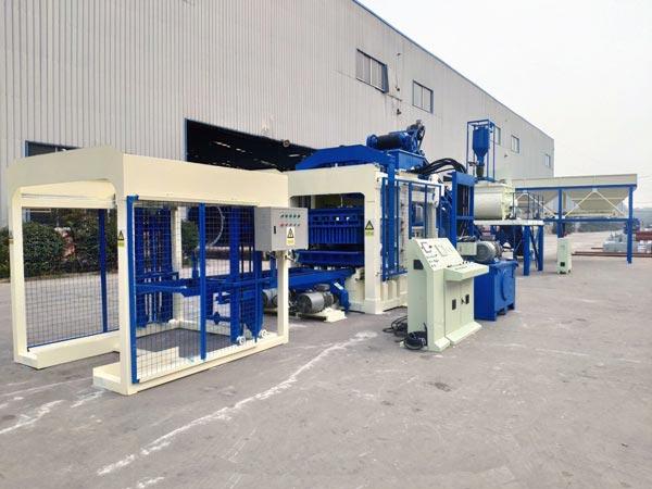 ABM-8S cement block making machine
