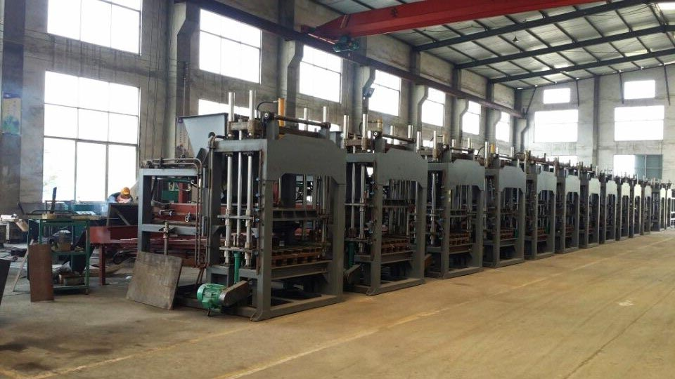 concrete block machine factory