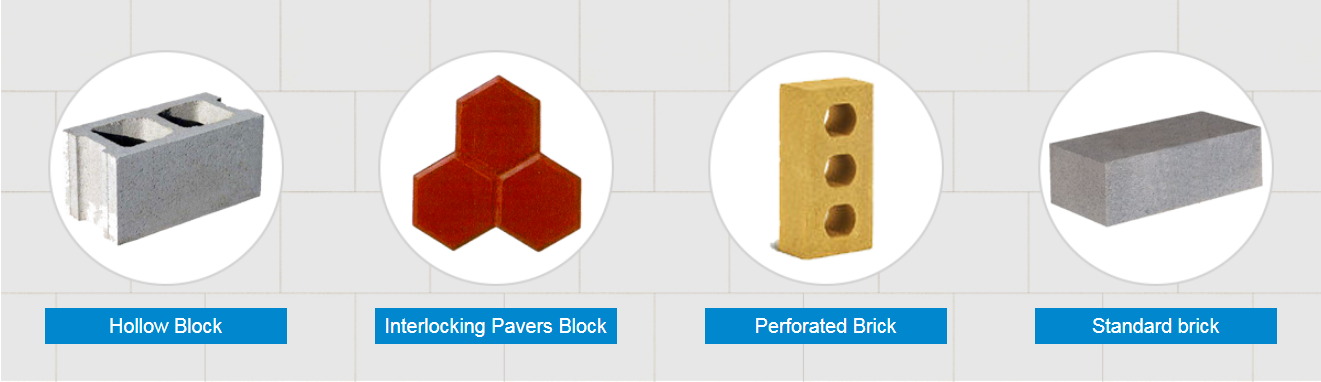 varous bricks