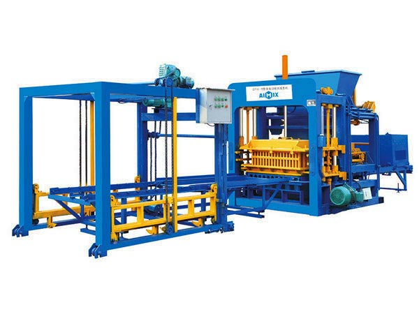 ABM-10S concrete block machine Nigeria