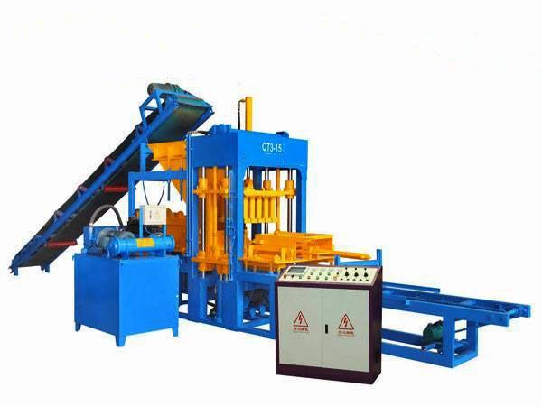 ABM-3S concrete brick machine Nigeria