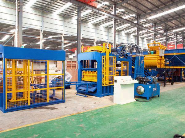 ABM-12S brick moulding machine Nepal