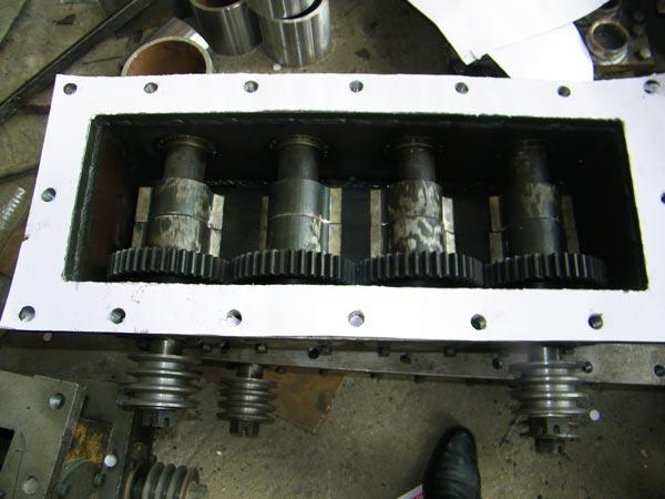 vibrating moulding box