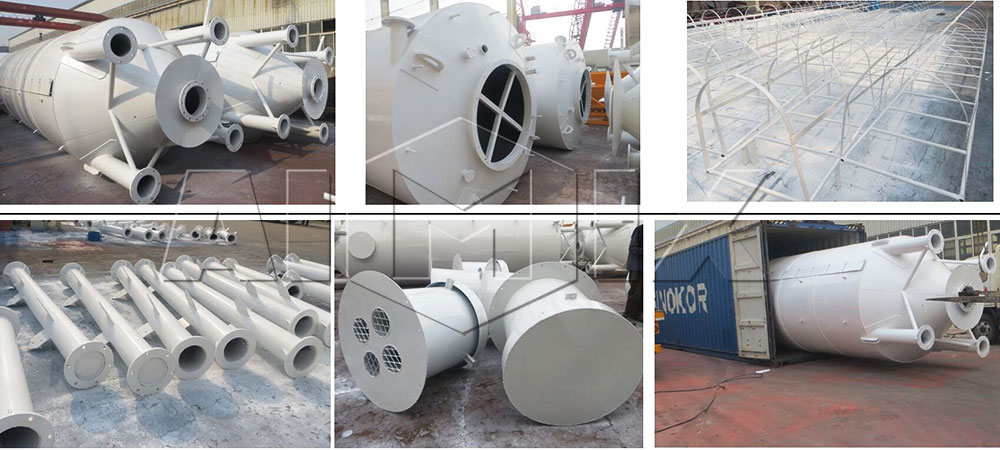 50t welded type cement silo to Australia