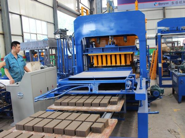 ABM-4S block making machine Bangladesh