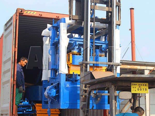 ABM-4S brick machine to Philippines