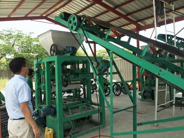 ABM-6S block machine in Bangladesh